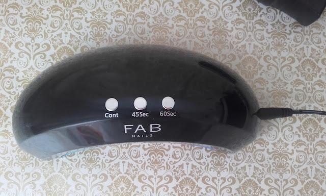 lampara de secado de uñas goc