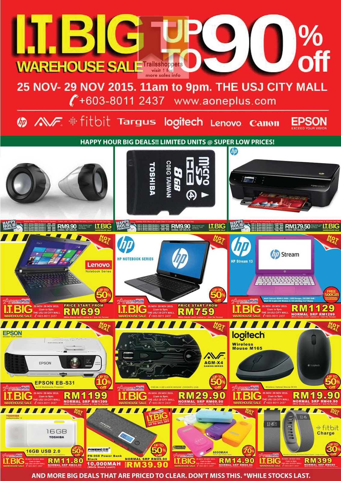 IT Big Warehouse Sale USJ 19 Mall Malaysia