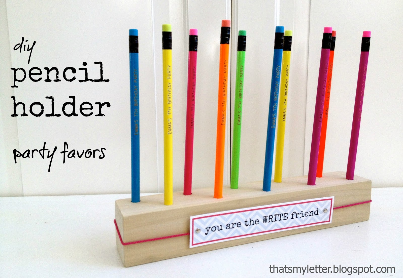 Every kid needs a pencil holder. Build this simple version and fill it ...