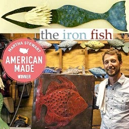 The Iron Fish Martha Stewart American Made Winner