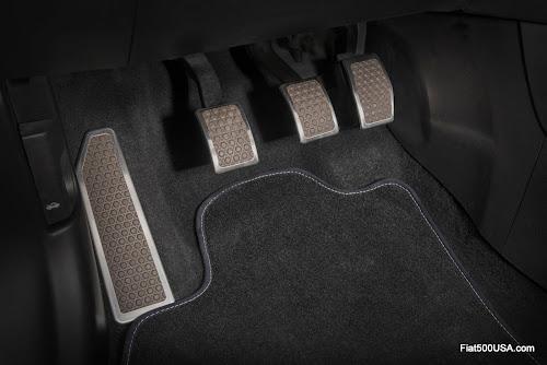 Fiat 500L-Vans Waffle Pattern Pedals