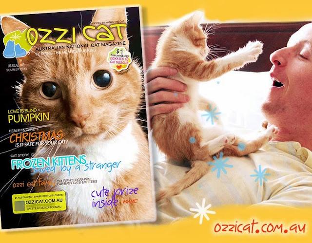 Ozzie Cat Magazine Actor Paul Cram