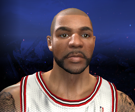 NBA 2K14 Carlos Boozer Cyber Face Mod