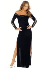 Длинное Черное Платье Доставка