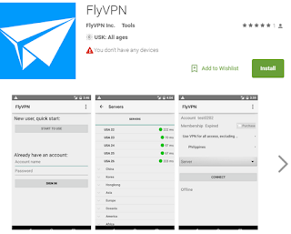 VPN app on Android