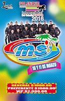Banda MS Palenque Texcoco 2016