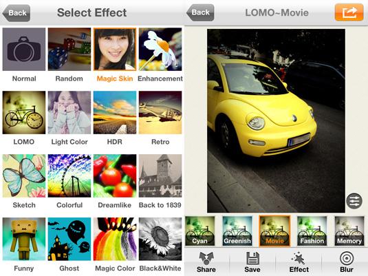 Camera360 iphone 5 app