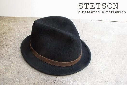 Chapeau homme Stetson nouvelle collection