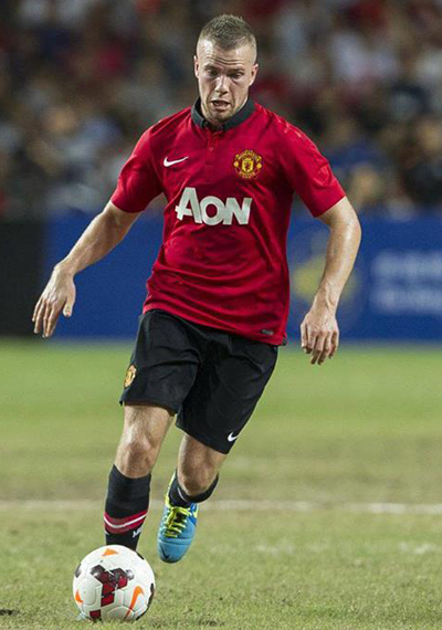 Tom Cleverley Midfielder Man Utd Tour 2013