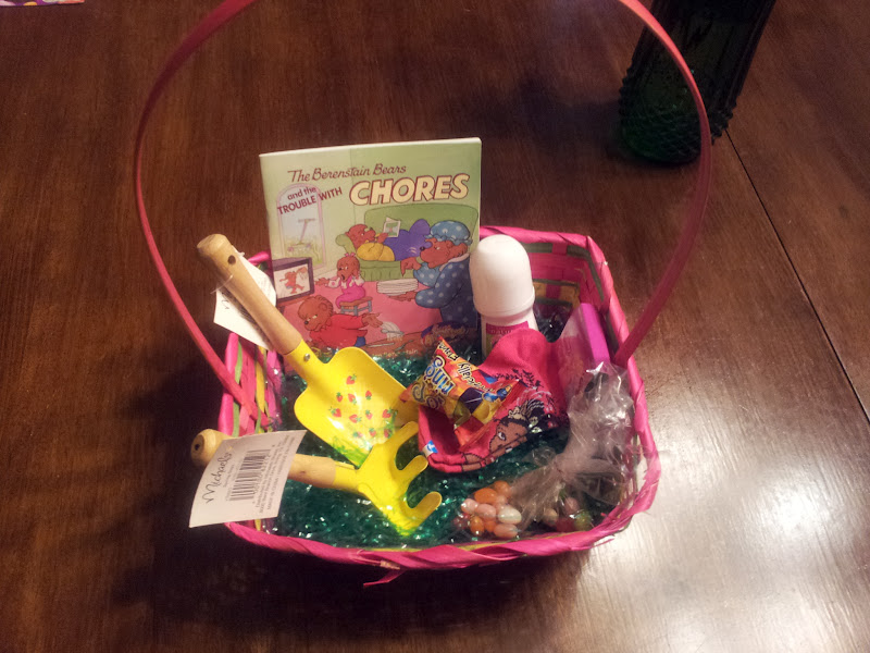 The talbert report easter day hunters basket 18 months old contained a sandra boynton book 10 cents from a local thrift store bath coloring soap 99 cents from my friend who sells negle Gallery