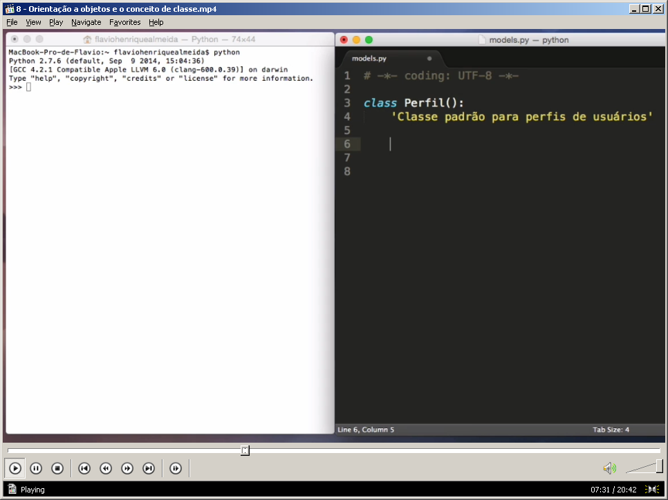 Curso Completo Python e Django