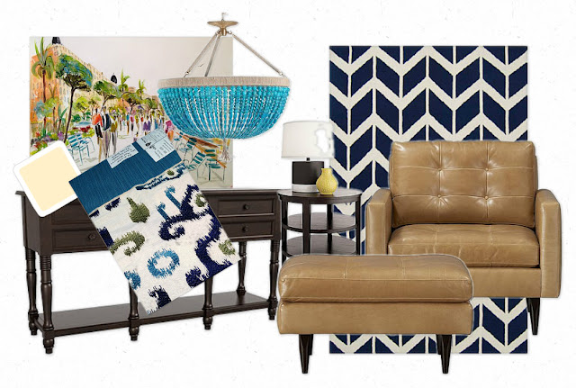Here Is The Mood Board I Put Together To Help Client See My Vision Pencil Legs On Petrie Chairs From Crate And Barrel Reminded Me Of People