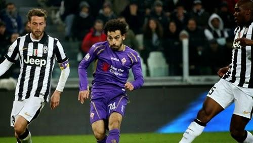 الحكم يلغي هدف صلاح في اليوفي بعد مهاره رائعه Mohamed Salah with Fiorentina