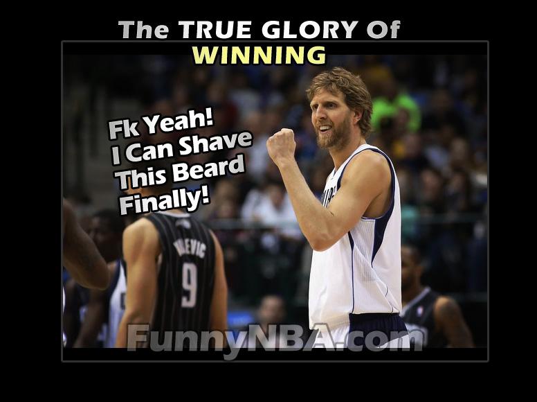Funny Beard Meme Pics : Dallas mavericks on no shave of beard pledge nba funny moments