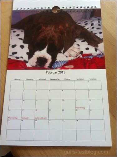 Fotokalender als Geschenk