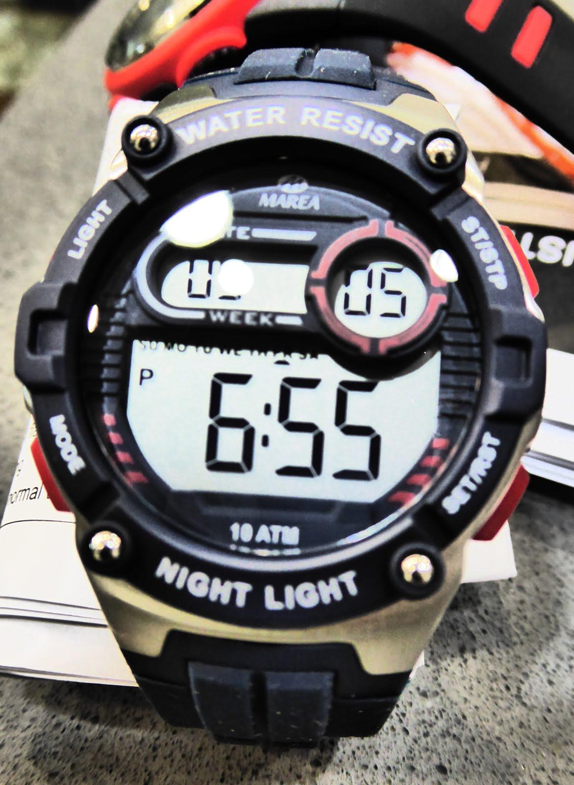 Reloj digital cadete