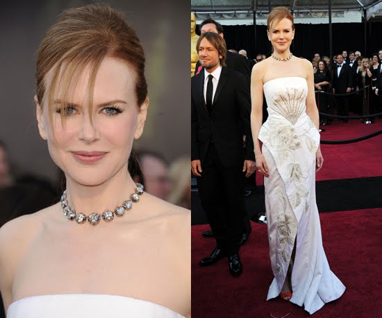 Nicole Kidman Oscars Dress. Nicole Kidman in Dior: Just