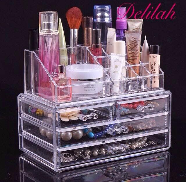 Acrylic Makeup Organiser