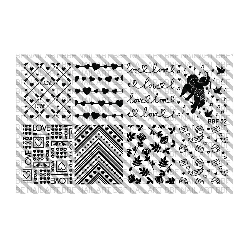Lacquer Lockdown: Hot Off The Stamping Press: New Loja BBF Nail Art ...