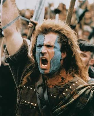 william wallace painting. warrior William Wallace.