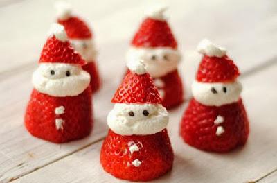 Natal Saboroso- Papai Noel de Morango
