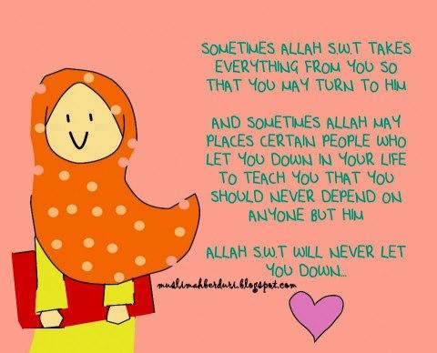 kekalkan aku dijalanMU ya ALLAH..