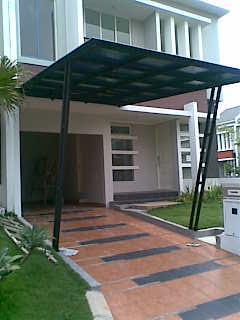 Teras Rumah Minimalis canopy
