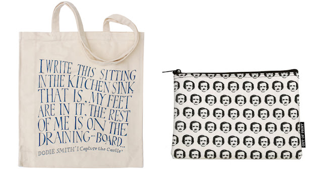 I Capture the Castle Poe-Ka Dots Literary Gift Company gift guide