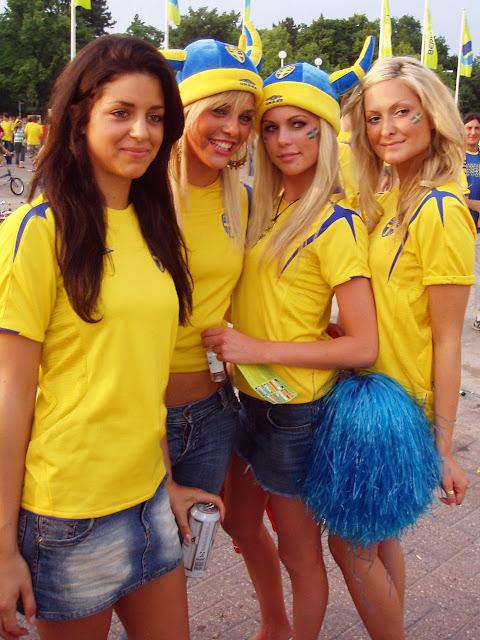 mujeres hermosas bellas de Suecia estocolmo