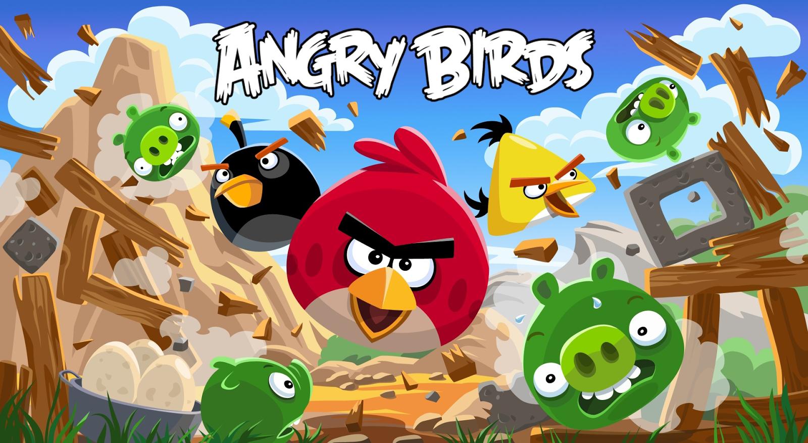 hình nền 3d games angry birds đẹp nhất