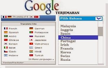 Gambar Cara Membuat Terjemahan Bahasa Di Blog