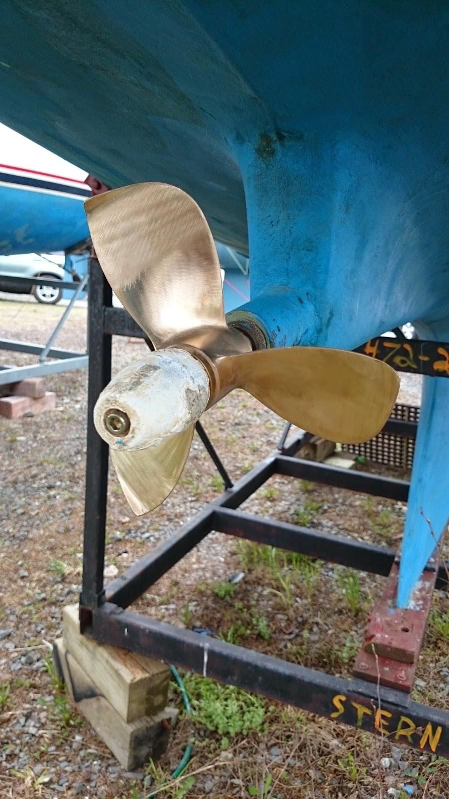 Indigo Propeller