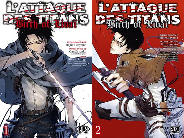 L'Attaque des Titans : Birth of Livaï, Pika Edition, Actu Manga, Manga,