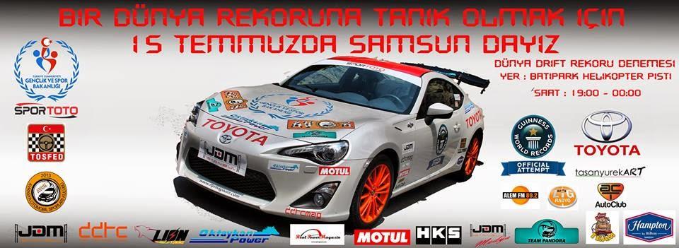 Toyota ile dünya rekoru