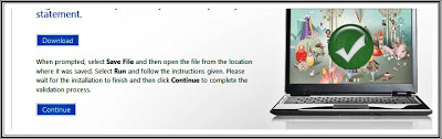 Cek Keaslian Windows 7