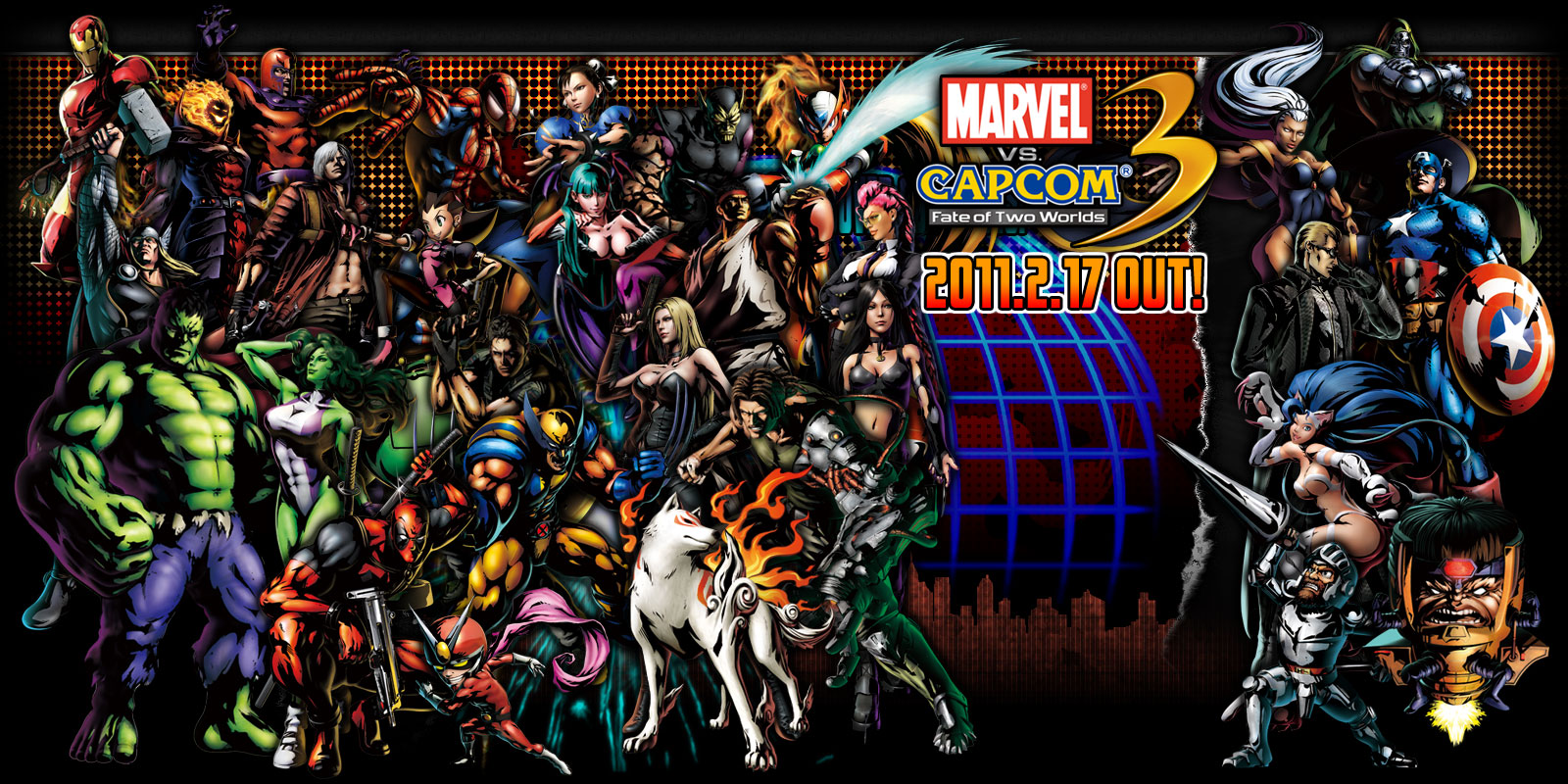 The DangerDang Blogspot  Marvel vs  Capcom 3  Fate of Two Worlds