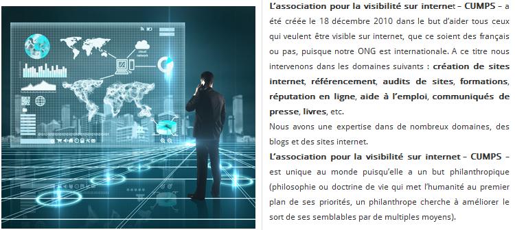 L'association pour la visibilité sur internet
