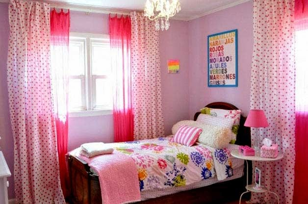 Habitaciones para niñas en color rosa 5
