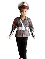 kostum profesi polantas untuk anak
