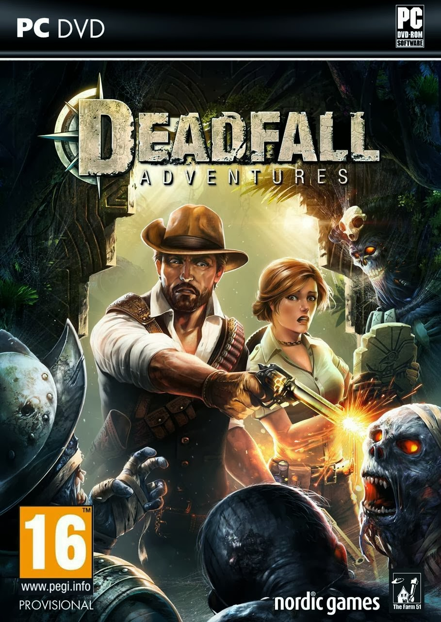 Deadfall Adventures PC Game Cover