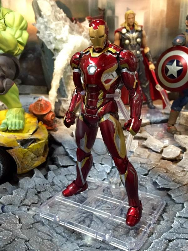 the avengers iron man mark 45