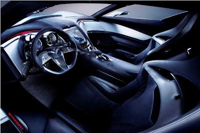 2013 Corvette C7 Interior.