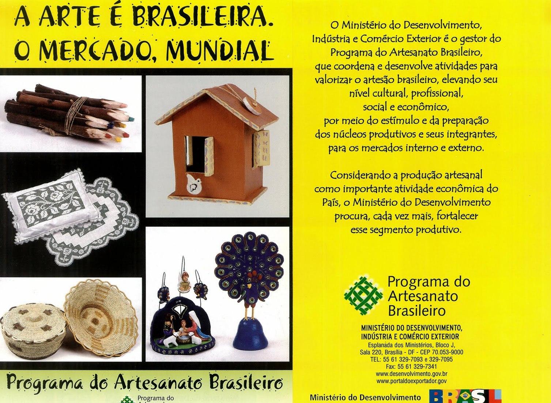 Programa Artesanato Brasileiro de Artesanato Brasileiro