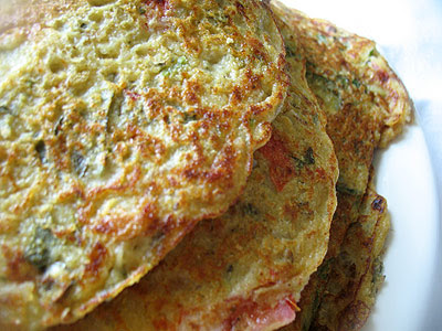 Savory Indian Rice and Lentil Pancakes