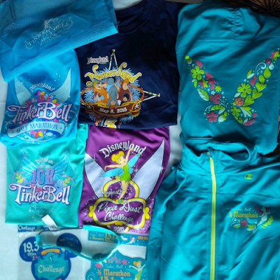 Tinkerbell half marathon jackets run disney