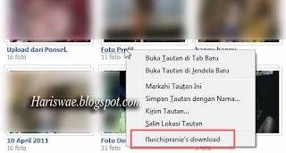Download Album Facebook Dengan Fluschipranie, download album foto teman dengan satu klik