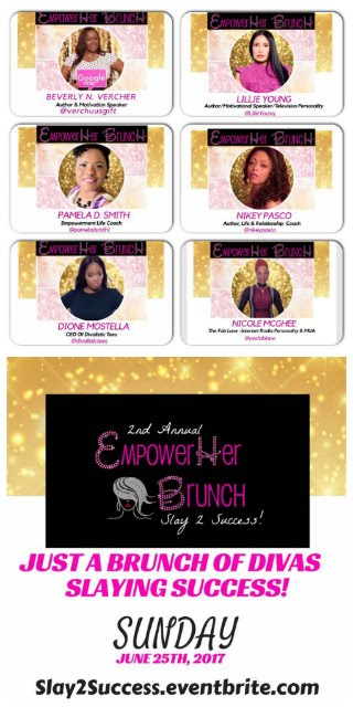 Snappin Event: Tickets On Sale Now - 2nd Annual Empower Her Brunch: Slay to Success!