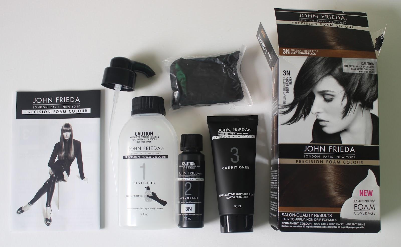 Review John Frieda Precision Foam Colour In 3n Deep Brown Black