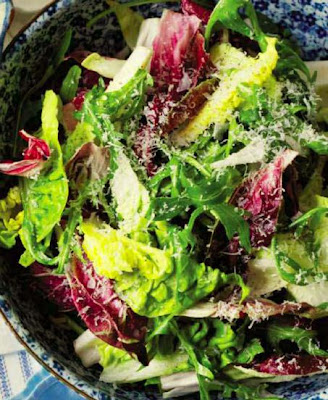 Mixed Leaf Salad with Parmesan