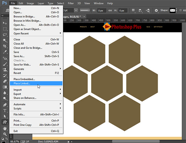 Updating Linked Smart Objects   Photoshop CC Update ...